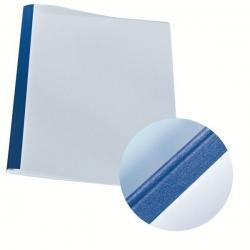 39240 Thermobindemappe Leinenoptik, A4, Rückenbreite 1,5 mm, 100 Stück, blau
