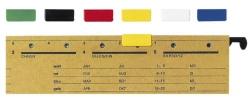 6069 Signalreiter ALPHA®, 50 Stück, weiß