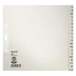 6095 Register - A - Z für Hängeordner, Papier, A4 halbe Höhe, 20 Blatt, grau