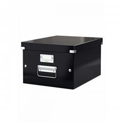 Archivbox WOW Click & Store - für A4, schwarz