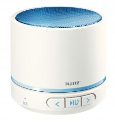 6358 Mini Bluetooth Lautsprecher WOW Duo Colour - tragbar, blau metallic