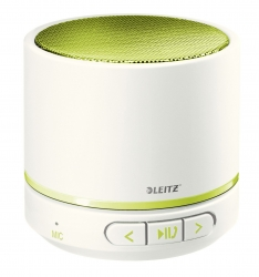 6358 Mini Bluetooth Lautsprecher WOW Duo Colour - tragbar, grün metallic