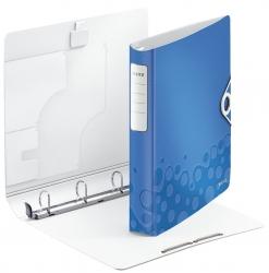 4240 Ringbuch Active WOW, A4, Polyfoam, 4 Ringe, 30 mm, blau