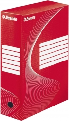 Archiv-Schachtel - DIN A4, Rückenbreite 10 cm, rot