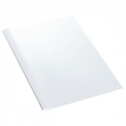 177162 Thermobindemappe Standard, A4, Rückenbreite 8 mm, 100 Stück, weiß
