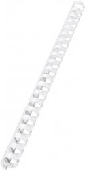 10971 Plastikbinderücken - A4, Kunststoff, 16 mm, 145 Blatt, 100 Stück, weiß