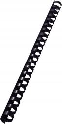 10972 Plastikbinderücken - A4, Kunststoff, 16 mm, 145 Blatt, 100 Stück, schwarz