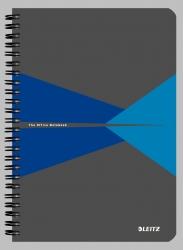 Collegeblock Office Card A4 kariert, blau
