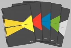 Collegeblock Office Card A4 liniert, sortiert