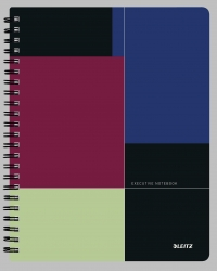 Collegeblock Executive Project A4 liniert, mehrfarbig