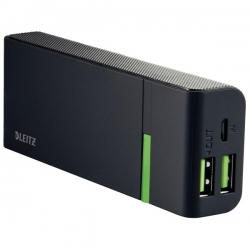 Complete USB High-Speed Ladegerät 5200  - 2 USB-Anschlüsse, schwarz