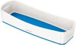 5258 Aufbewahrungsschale MyBox - länglich, ABS, weiß/blau