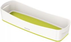 5258 Aufbewahrungsschale MyBox - länglich, ABS, weiß/grün