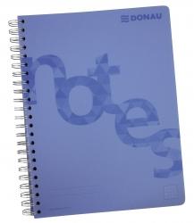 Collegeblock PP Cover - A4, kariert, blau