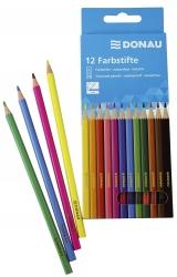 Farbstifte - 3 mm, 12 Farben, Kartonetui