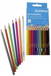 Farbstifte - 5 mm, 24 Farben, Kartonetui