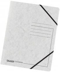 Eckspanner A4 Colorspan - intensiv weiß, Karton 355 g/qm