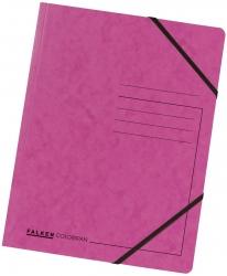 Eckspanner A4 Colorspan - intensiv fuchsia, Karton 355 g/qm