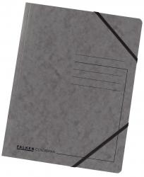 Eckspanner A4 Colorspan - intensiv dunkelgrau, Karton 355 g/qm