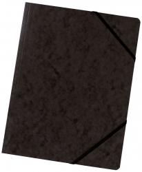 Eckspanner A4 Colorspan - intensiv schwarz, Karton 355 g/qm