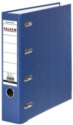 Doppelordner - 2x A5 quer, 70 mm, blau