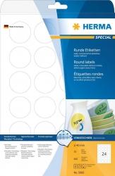 5066 Etiketten A4 weiß Ø 40 mm rund Movables/ablösbar Papier matt 600 St.