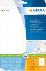 5077 Adressetiketten Premium A4, weiß 99,1x67,7 mm Papier matt 200 St.