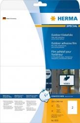9535 Etiketten A4 Outdoor Klebefolie weiß 210x148 mm Folie matt 20 St.