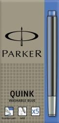 Tinte für Füllhalter Quink Tintenpatrone, königsblau, 5 Patronen