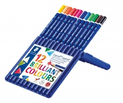 ergo soft® aquarell Farbstift - Box mit 12 Farben