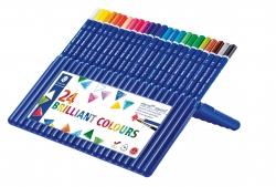 ergo soft® aquarell Farbstift - Box mit 24 Farben