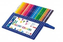 ergo soft® 157 Farbstift - 3 mm, Box mit 24 Farben