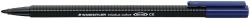 Fasermaler triplus® color 323 - ca. 1,0 mm, schwarz