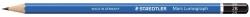 Bleistift  Mars® Lumograph® - 2B, blau