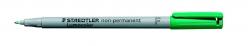Feinschreiber Lumocolor® Universalstift non-permanent, F, grün