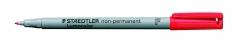 Feinschreiber Lumocolor® Universalstift non-permanent, F, rot