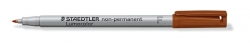 Feinschreiber Lumocolor® Universalstift non-permanent, F, braun