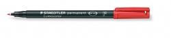 Feinschreiber Lumocolor® Universalstift permanent, F, rot
