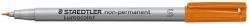 Feinschreiber Universalstift Lumocolor® non-permanent, S, orange