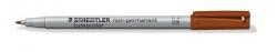 Feinschreiber Universalstift Lumocolor® non-permanent, M, braun