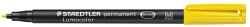 Feinschreiber Universalstift Lumocolor® permanent, M, gelb