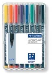 Feinschreiber Universalstift Lumocolor® permanent, M, STAEDTLER Box mit 8 Farben
