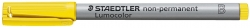 Feinschreiber Universalstift Lumocolor® non-permanent, B, gelb,