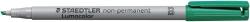Feinschreiber Universalstift Lumocolor® non-permanent, B, grün