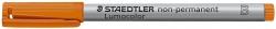 Feinschreiber Universalstift Lumocolor® non-permanent, B, orange