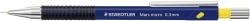 Druckbleistift Mars® micro - 0,3 mm, B, blau