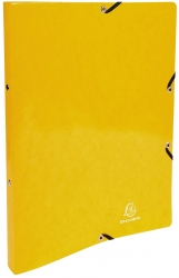 Ringmappe Iderama - A4/2R/15mm, mit Gummizug, gelb