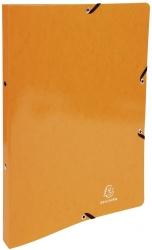 Ringmappe Iderama - A4/2R/15mm, mit Gummizug, orange