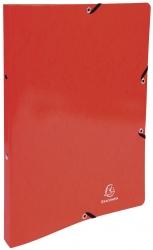 Ringmappe Iderama - A4/2R/15mm, mit Gummizug, rot