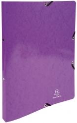 Ringmappe Iderama - A4/2R/15mm, mit Gummizug, violett